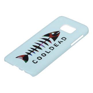 Estilo fresco de la espina de pez de Cooldead Funda Samsung Galaxy S7