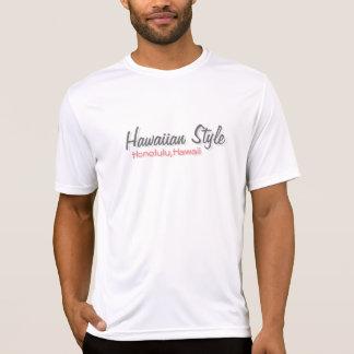 Estilo hawaiano camiseta