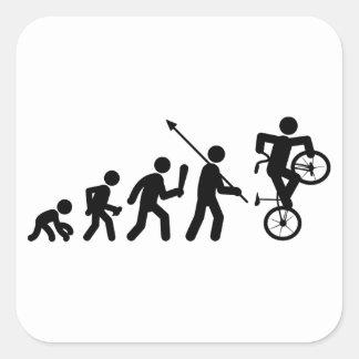 Estilo libre BMX Calcomania Cuadradas Personalizada