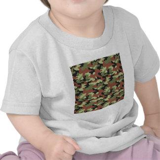 estilo militar t shirts