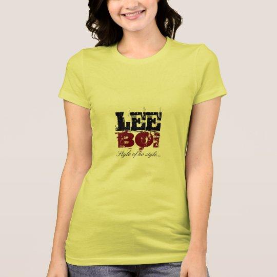 Estilo para mujer de LeeBoi sin el estilo t Camiseta