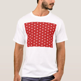 estilo retro del modelo del camiseta