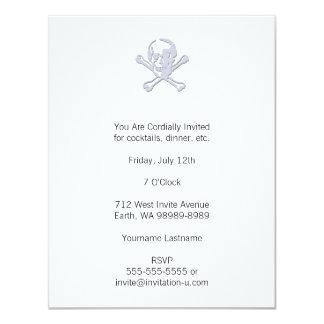 Estilo Rogelio alegre de la prensa de copiar Invitación 10,8 X 13,9 Cm