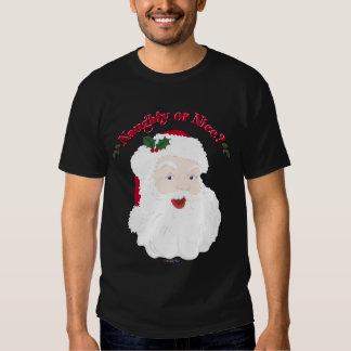 ¿Estilo Santa del vintage travieso o Niza? Camisetas