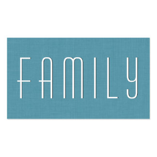 Estilo simple V39 del CONSEJERO de la FAMILIA de Tarjetas De Visita
