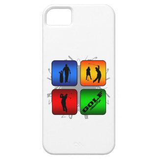 Estilo urbano del golf asombroso funda para iPhone SE/5/5s