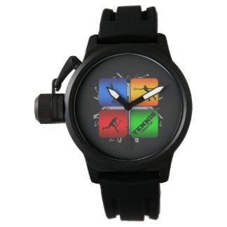 Estilo urbano del tenis asombroso (femenino) reloj de pulsera