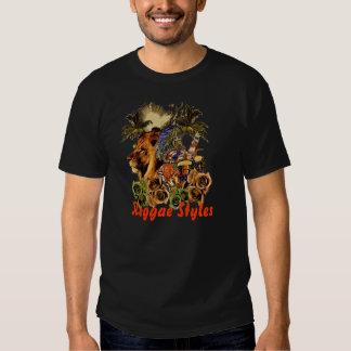 Estilos del reggae camisetas