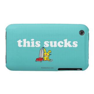 Esto chupa iPhone 3 Case-Mate fundas