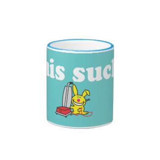 Esto chupa taza de dos colores