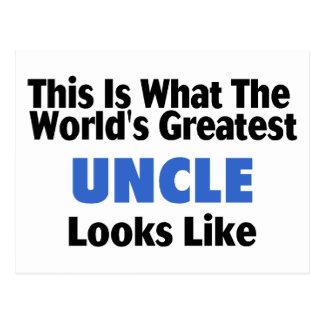 Esto es lo que el tío más grande Looks Lik del Postal