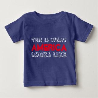 Esto es lo que parece América camiseta del bebé