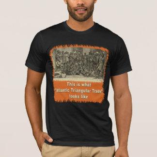 Esto es lo que parece el comercio triangular camiseta