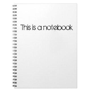 Esto es un cuaderno