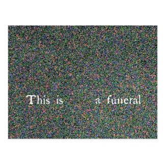 esto es un entierro postal