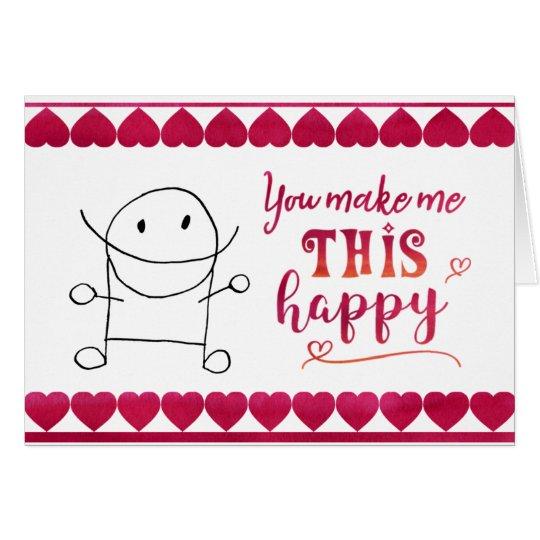 ¡ESTO feliz! Tarjeta De Felicitación