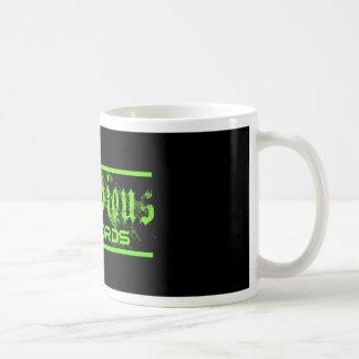Estos productos son mercancía oficial taza de café