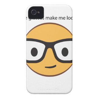 ¿Estos vidrios hacen que parece feliz? (yep!) Funda Para iPhone 4 De Case-Mate