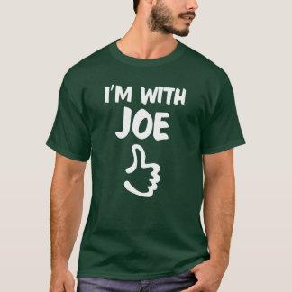 Estoy con la camisa de Joe - bosque profundo