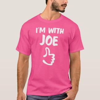Estoy con la camisa de Joe - rosa
