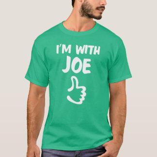 Estoy con la camisa de Joe - verde de Kelly