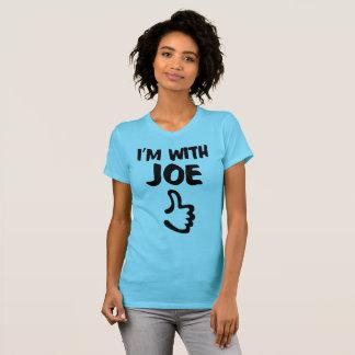 Estoy con la camiseta fina del jersey de las