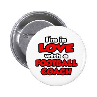 Estoy en amor con un entrenador de fútbol pins