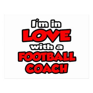 Estoy en amor con un entrenador de fútbol postales