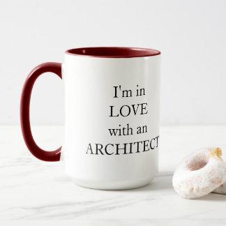 Estoy en amor con una taza del arquitecto