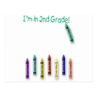 ¡Estoy en el 2do grado! Postal