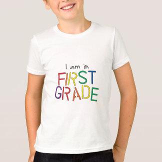 Estoy en el primer grado camiseta