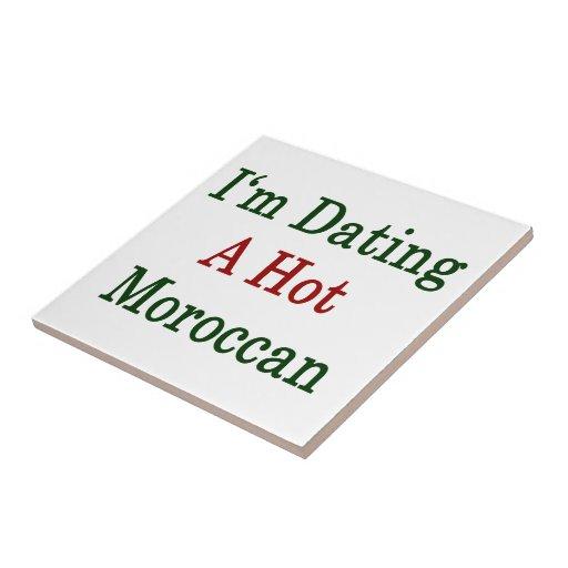 Estoy fechando a un marroquí caliente azulejo ceramica