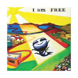 """""""Estoy libre"""", arte"""