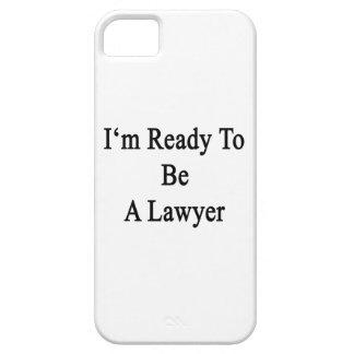 Estoy listo para ser abogado