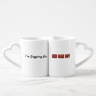 Estoy pidiendo… Su chico malo Set De Tazas De Café