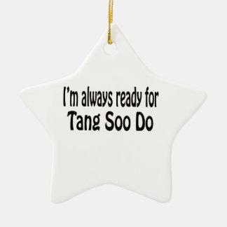 Estoy siempre listo para Tang Soo hago Ornamento Para Reyes Magos