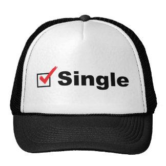 Estoy solo y disponible gorra