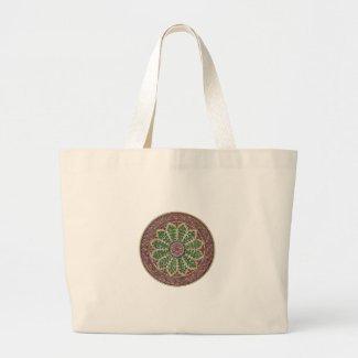 Estramonio Simbolo Vintage Herboristeria Bolsa Tela Grande