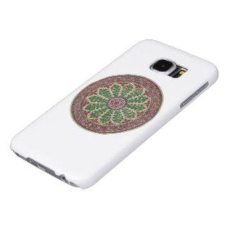Estramonio Simbolo Vintage Herboristeria Fundas Samsung Galaxy S6