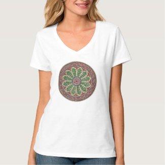 Estramonio Simbolo Vintage Herboristeria Camisetas