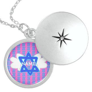 Estrella ADAPTABLE del collar del locket de David