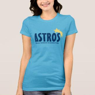 Estrella amarilla elemental de Astros Frank Borman Camisetas