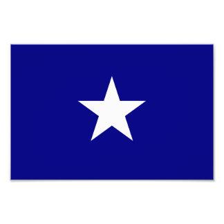 Estrella blanca de la bandera azul de Bonnie Fotos