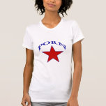 Estrella brillante camiseta