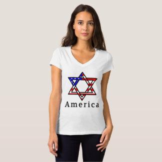 ¡Estrella de América del judaísmo de David! CAMISA