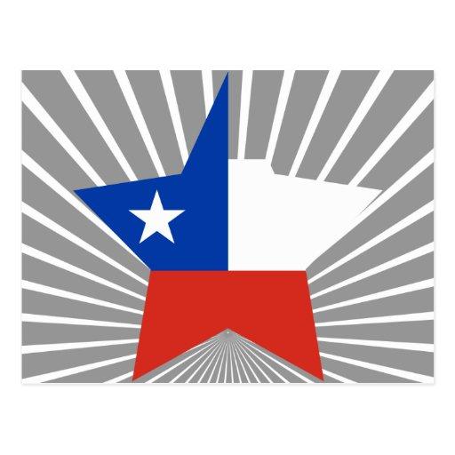 Estrella de Chile Tarjeta Postal