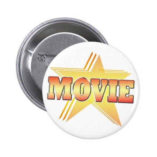 Estrella de cine pin