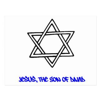 Estrella de David - Jesús, el hijo de David Postal