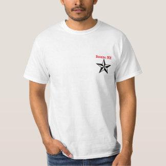 Estrella de florecimiento del MX Camisetas