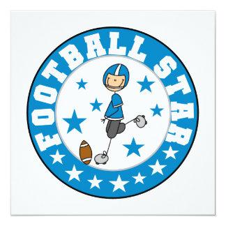 Estrella de fútbol anuncio